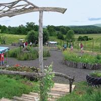Locally Grown: Homegrown Mini-Golf at Kelder's Farm Kelder's Farm in Kerhonkson
