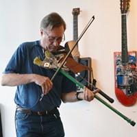 Instrument Maker Butler Plays Roxbury Gallery
