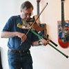 Instrument Maker Butler Plays Roxbury Gallery