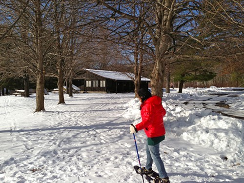 Kenneth L. Wilson State Park is a great place to snowshoe