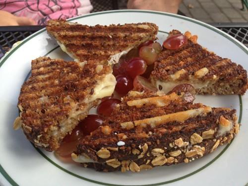 Kids Cheese Panini at Homespun Foods