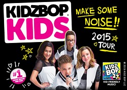 """PROVIDED BY BETHEL WOODS CENTER FOR THE ARTS - Kidz Bop Kids """"Make Some Noise"""" tour"""