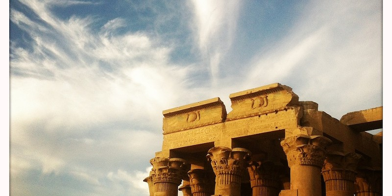 Egypt's Pyramids and Temples Kom Ombu—dual temple to Osiris and Sobek, healing and death Jason Stern
