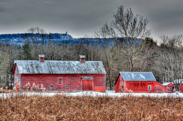 Kyserike Barns, digital print on metal - JOHN FISCHER