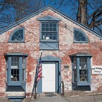 Poughkeepsie, Hyde Park, Pleasant Valley Law office in old building. Pleasant Valley. Roy Gumpel