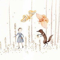 Julianna Swaney's Wistful Portraitures Light in the Woods Julianna Swaney
