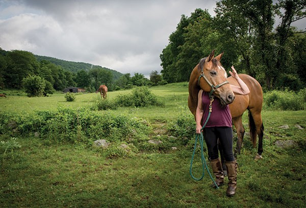 Lilly and Her Horse, Monte - CHRISTINE ASHBURN | 2014