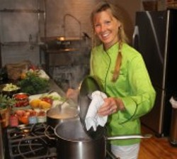 Linda Soper-Kolton, senior director, communications and outreach, and vegan culinary instructor