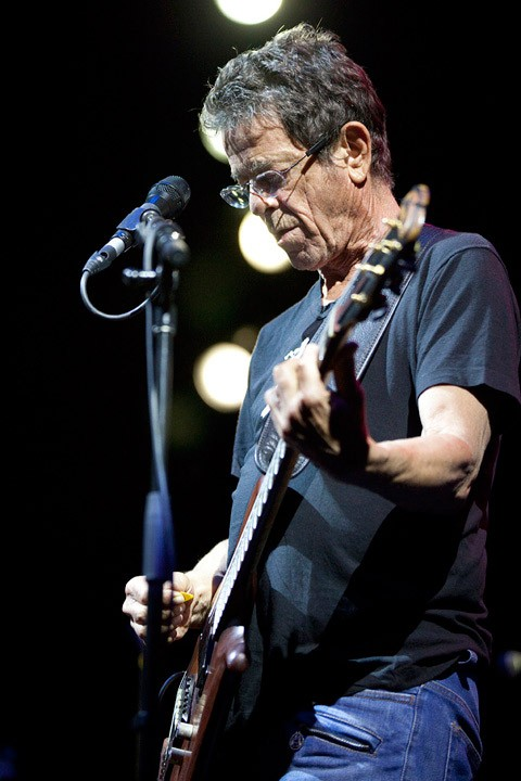 Lou Reed in Prospect Park, 2011