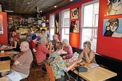Love Bites Cafe. - DAVID CUNNINGHAM