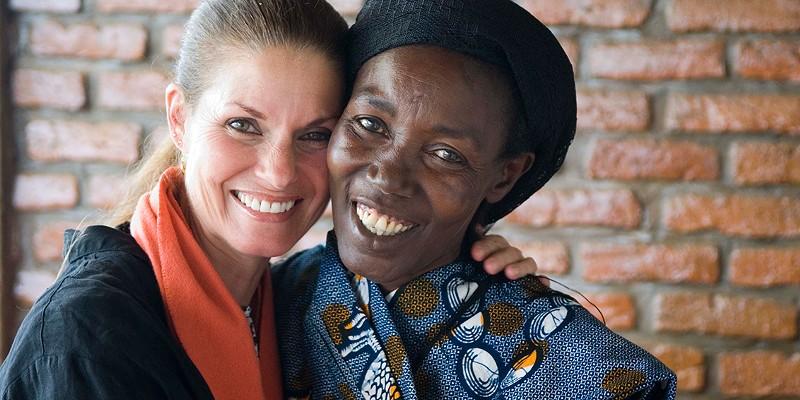 Women for Women International in Rwanda Maggie Heinzel-Neel taught a benefit yoga class to sponsor 3 women through Women for Women International. Maggie Heinzel-Neel
