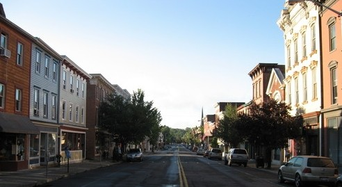 Main Street in Catskill