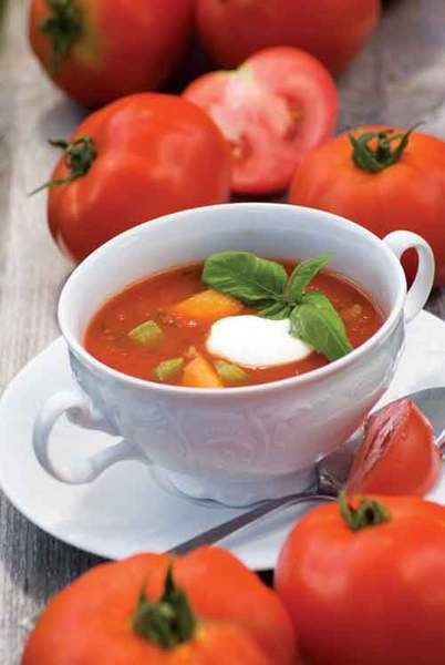 Marika Blossfeldt's tomato soup, from Essential Nourishment.