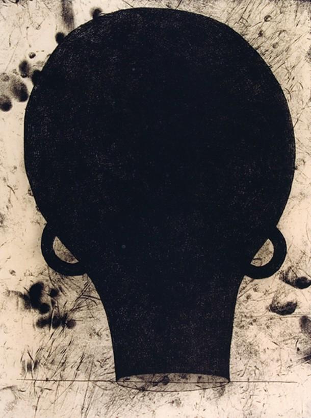 Marin Puryear, Untitled, print, 1999.