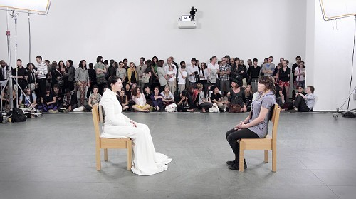 Marina Abromovic, The Artist is Present, 2010, MoMA
