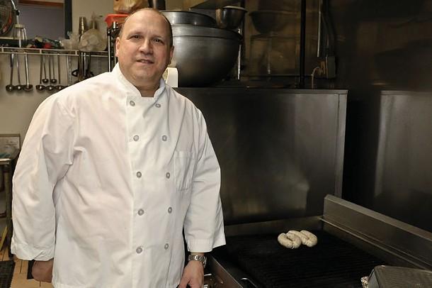 Mark Elia at Elia's Catering in Highland. - DAVID MORRIS CUNNINGHAM
