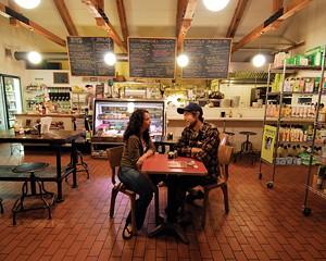 Market Market on Rt. 32 is a community hub in Rosendale.