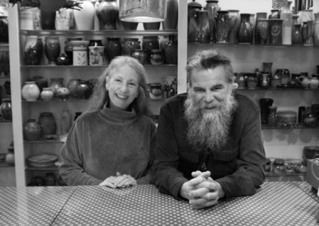 Mary Elwyn and Rudy Hopkins, owners of Crafts People - DION OGUST