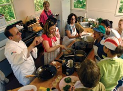 """Master Chef Thomas W. Griffiths teaching at Omega. Griffiths will teach """"Omega Thanksgiving: Creating a Delicious and Meaningful Celebration,"""" Oct. 22-24."""