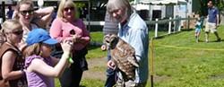 GREEN CHIMNEYS - Meet magnificent birds of prey up close!