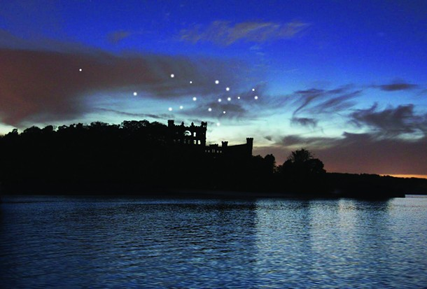 "Melissa McGill's ""Constellation"" will be installed at Bannerman's Castle this month."