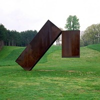Storm King Art Center Menashe Kadishman, Suspended, 1977, weathering steel. Jerry L. Thompson