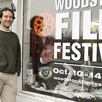 Woodstock and Saugerties Michael Burke at the Woodstock Film Festival Office. David Morris Cunningham