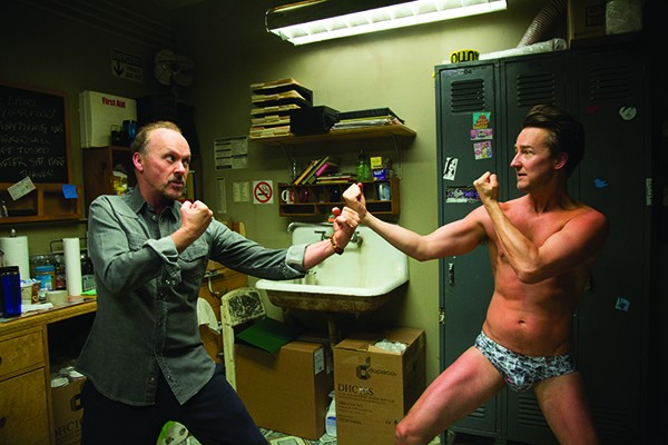 Michael Keaton and Edward Norton star in Birdman, one of more than 50 films to be screened this month at the Film Columbia Festival