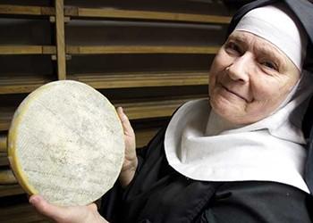 Making Cheese at the Abbey of Regina Laudis