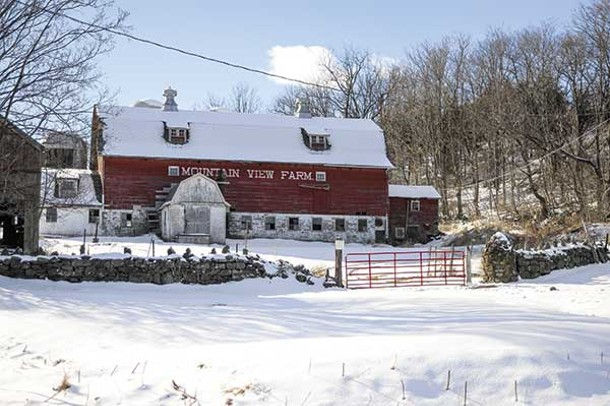 Mountain View Farm in Chester - DAVID MORRIS CUNNINGHAM