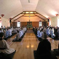 Mt. Tremper Monastery: My Wednesday Night Evening Meditation Trial