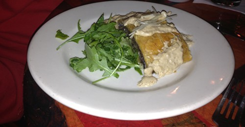 Mushroom Wellington at New World Home Cooking