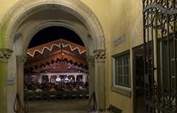 CARAMOOR PHOTOGRAPHER - Music Room, Rosen House, Spanish Courtyard