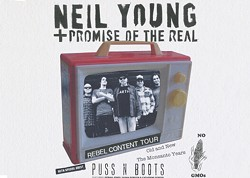PROVIDED BY BETHEL WOODS CENTER FOR THE ARTS - Neil Young & Promise of the Real
