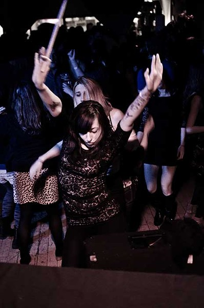 Night of the Living Soul Clap dance party at BSP Lounge in Kingston on February 9.