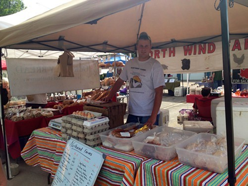 Northwind Farms sells meats, poultry, and smoked meats