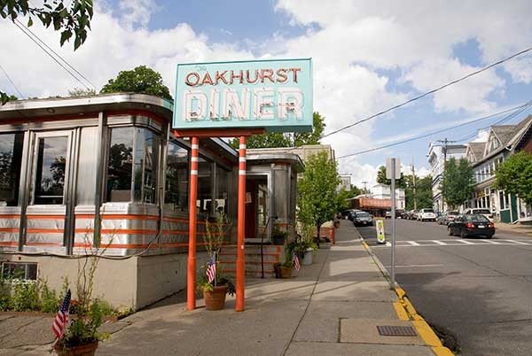 Oakhurst Diner in Millbrook.