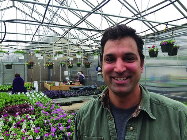 Orange County Arboretum Horticulturist and Arborist Pete Patel has had extensive - experience picking out plants. - MICHELLE SUTTON