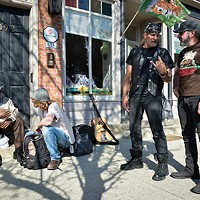 Highland Fling Outside the Sound Shack on Record Store Day in Beacon. Christine Ashburn