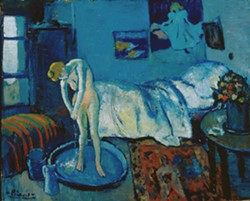 Pablo Picasso, The Blue Room (The Tub), 1901