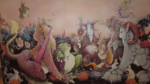 Painting by Hattie Iles