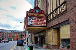 Paramount Theater. - DAVID CUNNINGHAM