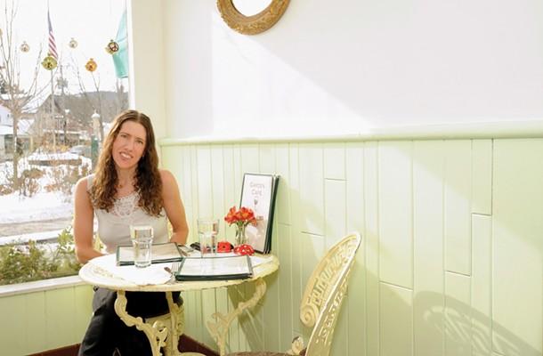 Photo taken at the Garden Cafe in Woodstock. - KELLY MERCHANT