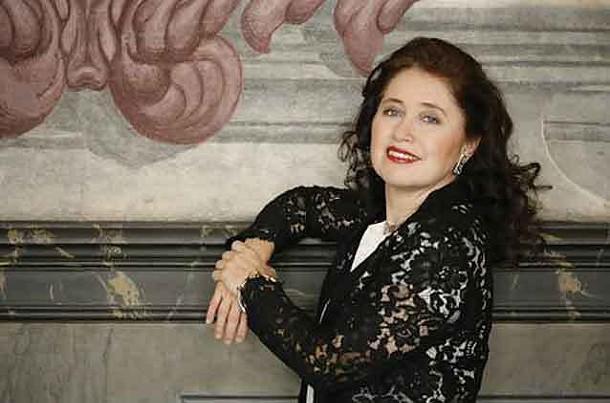 Pianist Babette Hierholzer.