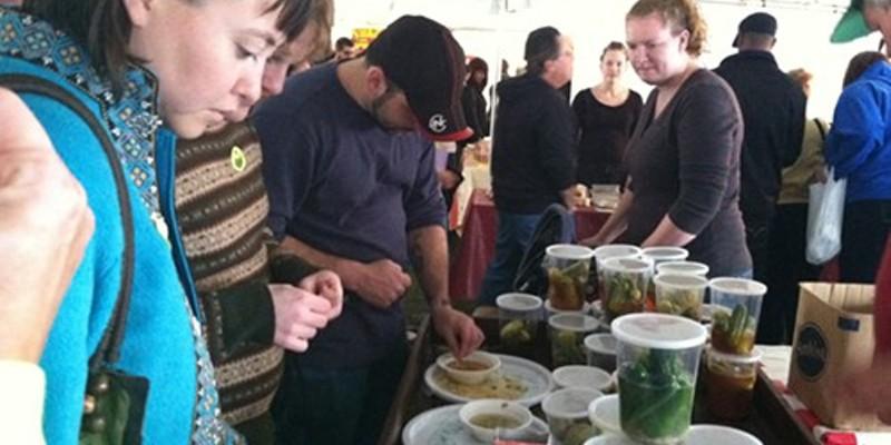 Pickle tastings for all