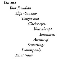 Poem: ~Freudian Slip~