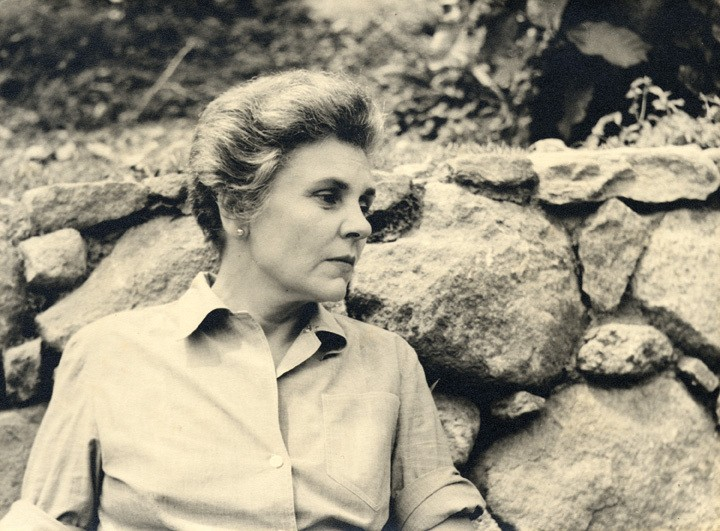 "Poet Elizabeth Bishop (pictured here circa 1954) is the subject of ""From the Archive: Discovering Elizabeth Bishop,"" at Vassar College through December 15."