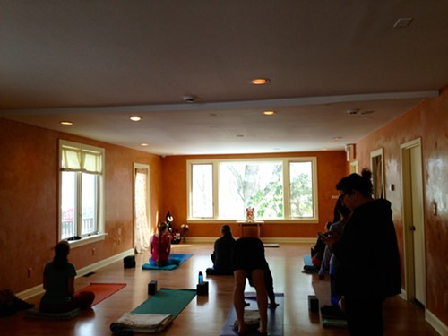 Preparing to be transformed at Woodstock Yoga Center