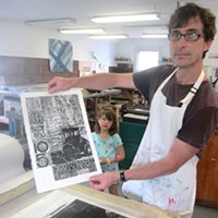 Steamroller Printmaking Festival