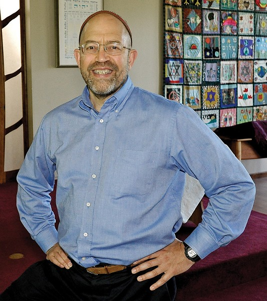 Rabbi Jonathan Kligler has incorporated song and creative expression as integral parts of his services for more than two decades. - PHOTO PROVIDED